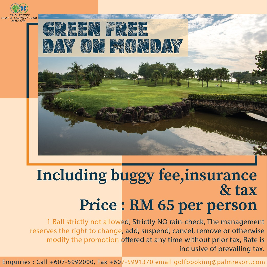 Green Free Day on Monday