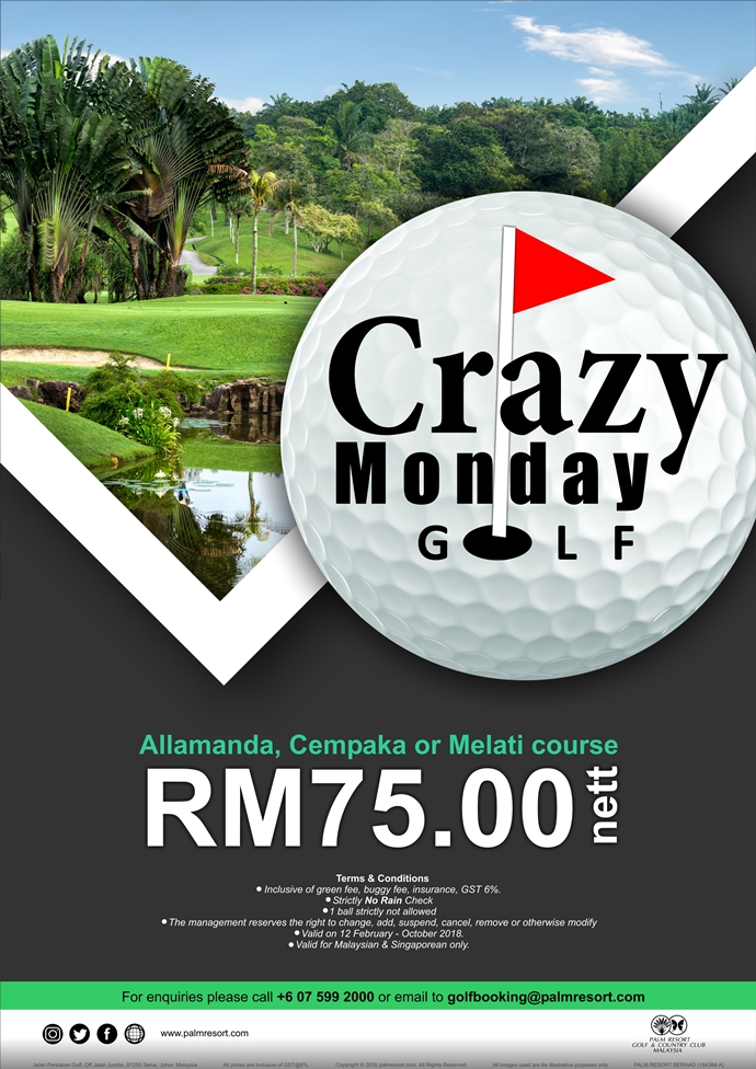 Crazy Monday Golf