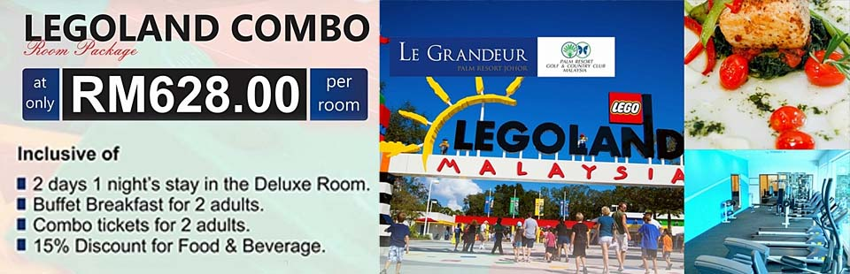 Legoland Combo Room Package_