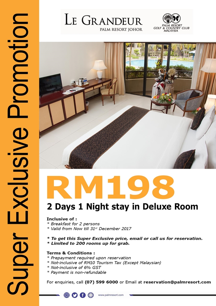 Super Exclusive Room Promotion