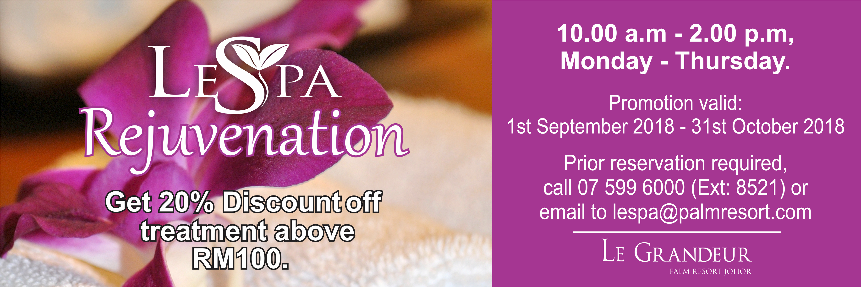 Le Spa Rejuvenation