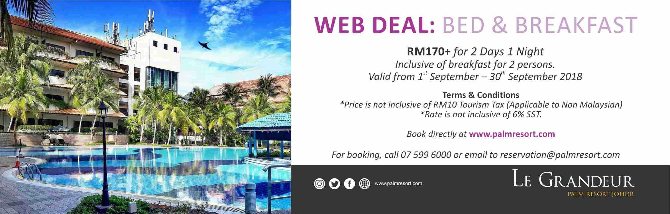 Web Deal: Bed & Breakfast