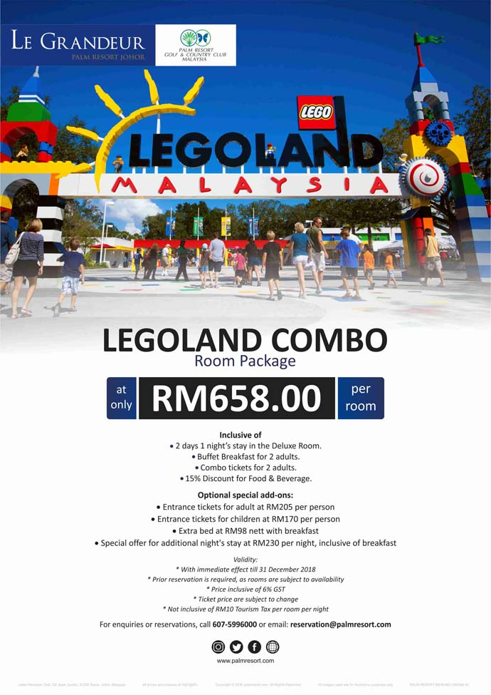 Legoland Combo Room Package